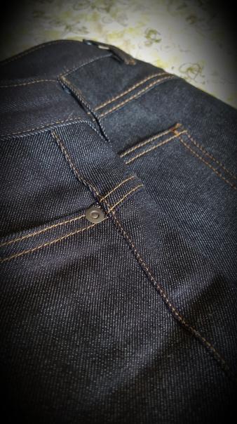 CC jeans stitching