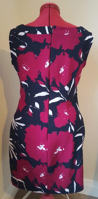 K6176 back dress