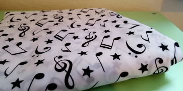 musical note cotton